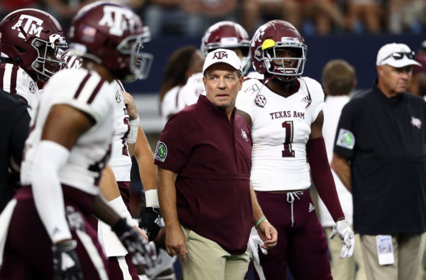 Jimbo Fisher, Texas A&M Football (Photo by Ronald Martinez/Getty Images)