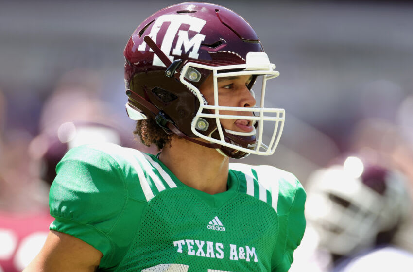 Eli Stowers, Texas A&M Football (Photo by Carmen Mandato/Getty Images)