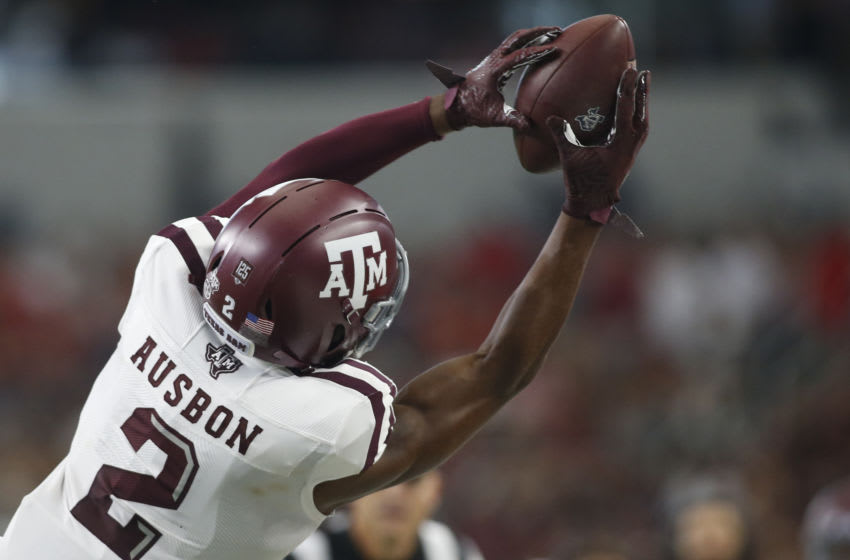 Jhamon Ausbon, Texas A&M Football Mandatory Credit: Tim Heitman-USA TODAY Sports