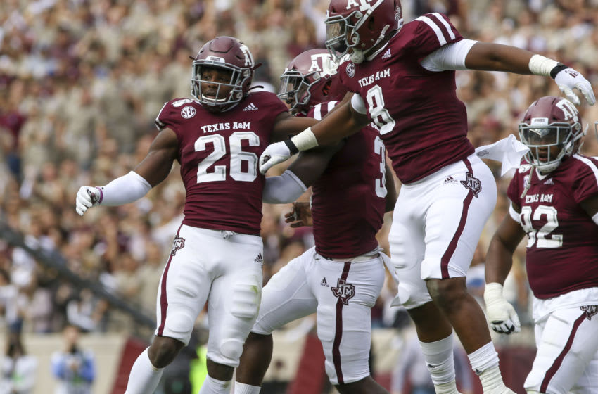 DeMarvin Leal, Texas A&M Football Mandatory Credit: John Glaser-USA TODAY Sports