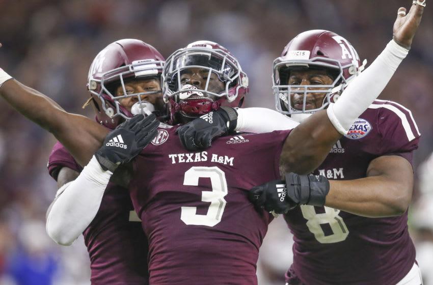 Tyree Johnson, Texas A&M Football Mandatory Credit: Thomas Shea-USA TODAY Sports