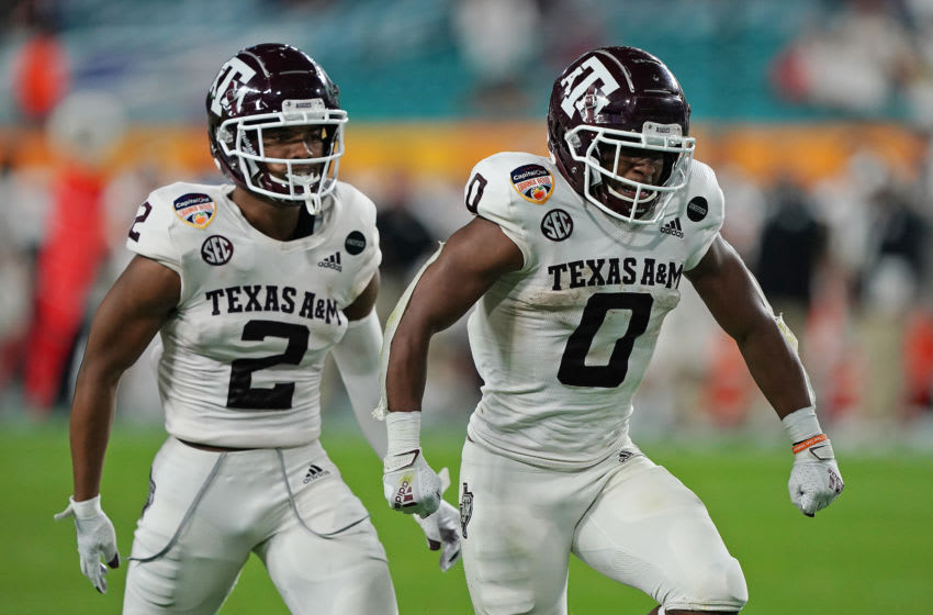 Ainias Smith, Texas A&M Football Mandatory Credit: Jasen Vinlove-USA TODAY Sports