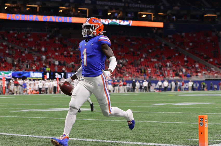 Kadarius Toney #1 of the Florida Gators (Photo by Kevin C. Cox/Getty Images)