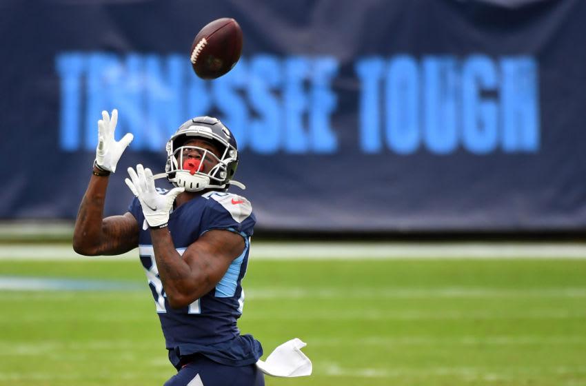 Tennessee Titans wide receiver Corey Davis (Mandatory Credit: Christopher Hanewinckel-USA TODAY Sports)