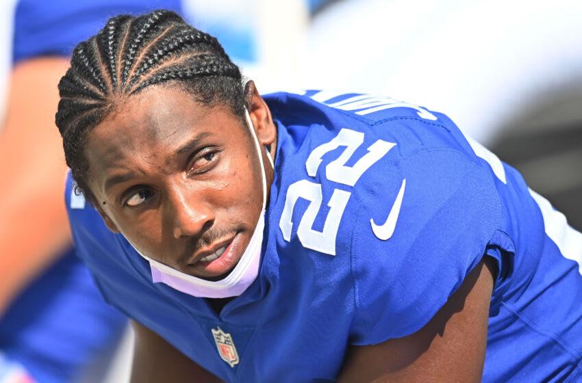 New York Giants cornerback Adoree' Jackson (Mandatory Credit: Ken Blaze-USA TODAY Sports)
