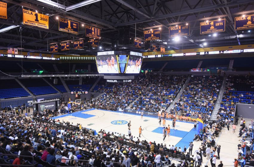 WESTWOOD, CA - JULY 17: View of atmosphere at 50K Charity Challenge Celebrity Basketball Game at UCLA's Pauley Pavilion on July 17, 2018 in Westwood, California. (Photo by Vivien Killilea/Getty Images Idol Roc)