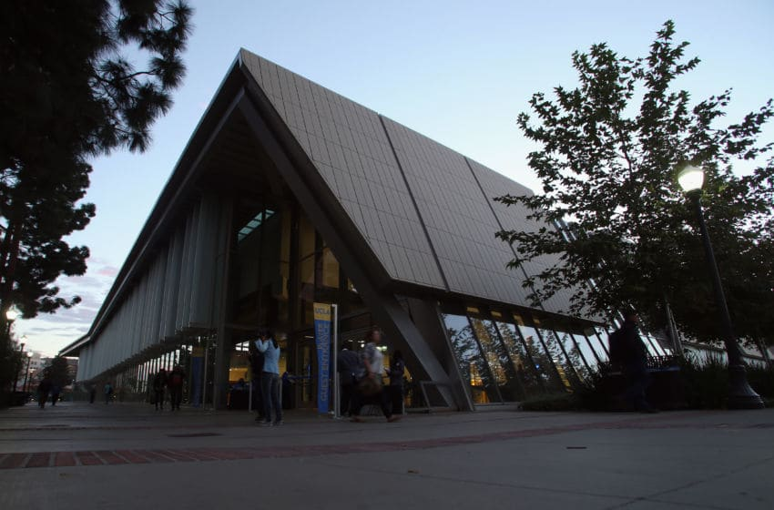 LOS ANGELES, CA - NOVEMBER 12: General view of the exterior of Pauley Pavilion is seen prior to the start of the game between the Oakland Golden Grizzlies and the UCLA Bruins on November 12, 2013 in Los Angeles, California. (Photo by Jeff Gross/Getty Images)