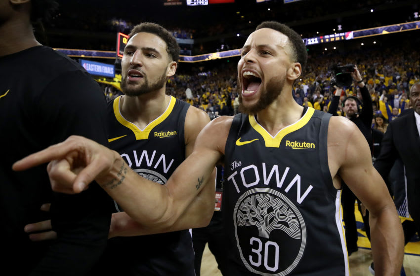 Warriors, Stephen Curry, Klay Thompson (Photo by Ezra Shaw/Getty Images)