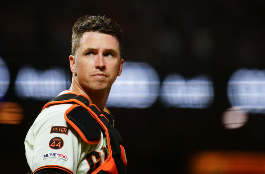 SF Giants, Buster Posey (Photo by Daniel Shirey/Getty Images)