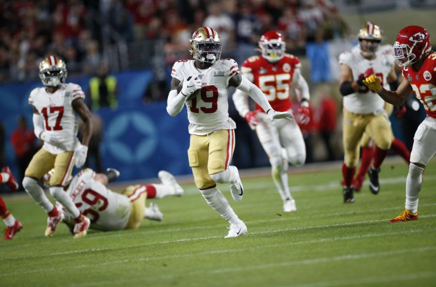 49ers, Deebo Samuel (Photo by Michael Zagaris/San Francisco 49ers/Getty Images)