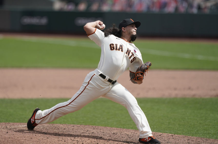 SF Giants, Dereck Rodriguez (Photo by Thearon W. Henderson/Getty Images)