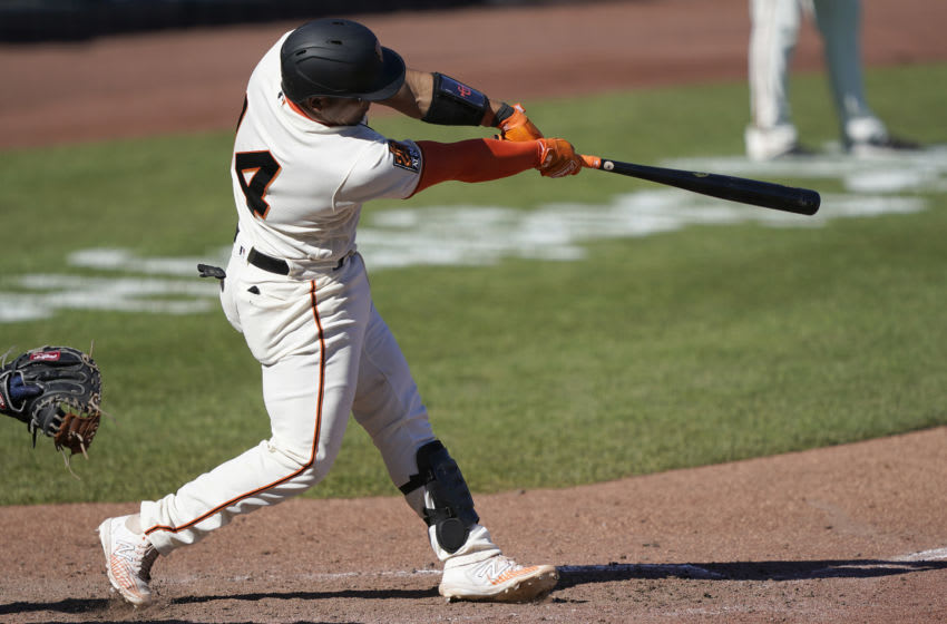 SF Giants, Chadwick Tromp (Photo by Thearon W. Henderson/Getty Images)