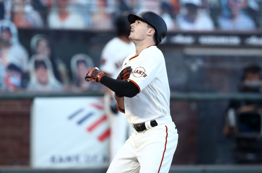 SF Giants, Mike Yastrzemski (Photo by Ezra Shaw/Getty Images)