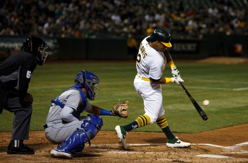 Oakland Athletics, Khris Davis (Photo by Jason O. Watson/Getty Images)