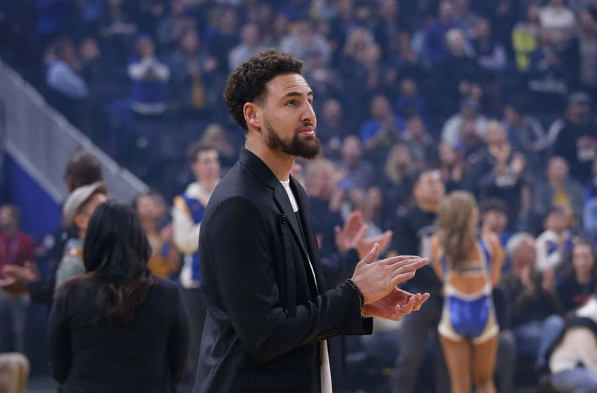 Warriors, Klay Thompson (Photo by Lachlan Cunningham/Getty Images)