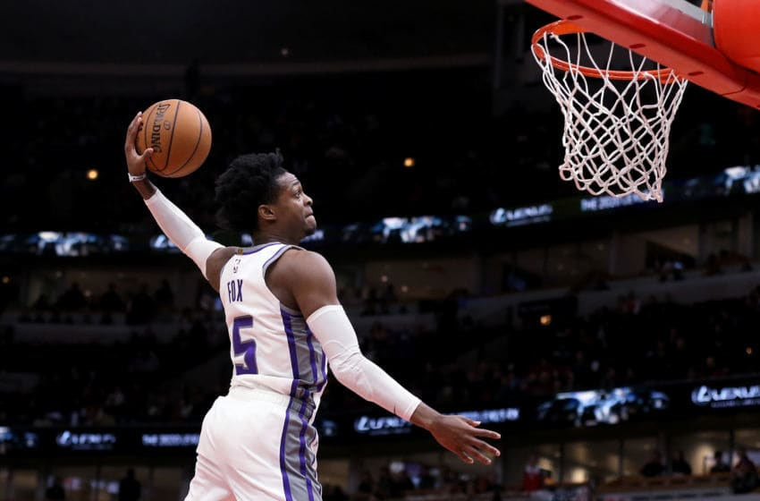 Sacramento Kings. De'Aaron Fox (Photo by Dylan Buell/Getty Images)