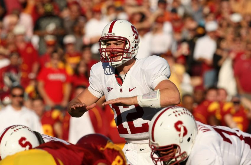 Andrew Luck, Stanford Cardinal. (Photo by Stephen Dunn/Getty Images)