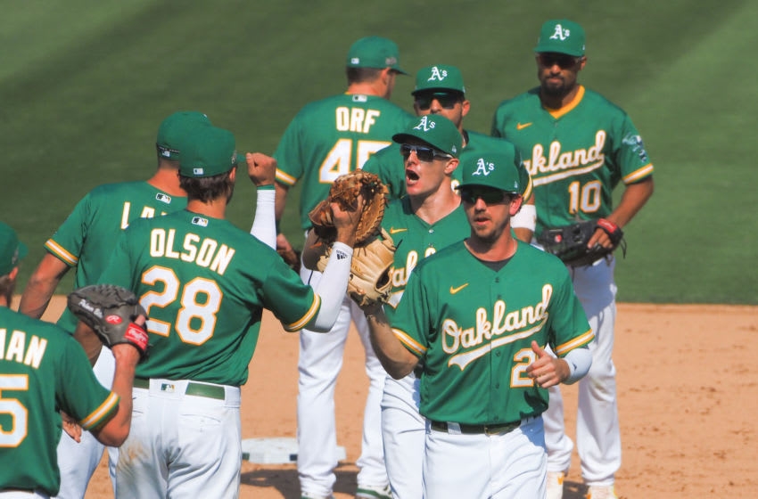 Oakland Athletics Mandatory Credit: Kelley L Cox-USA TODAY Sports