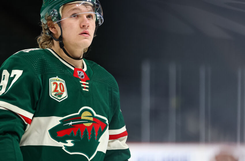 The drama surrounding a contract for Kirill Kaprizov continues as he will not be in St. Paul for the start of the Minnesota Wild training camp this week. (Photo by Harrison Barden/Getty Images)