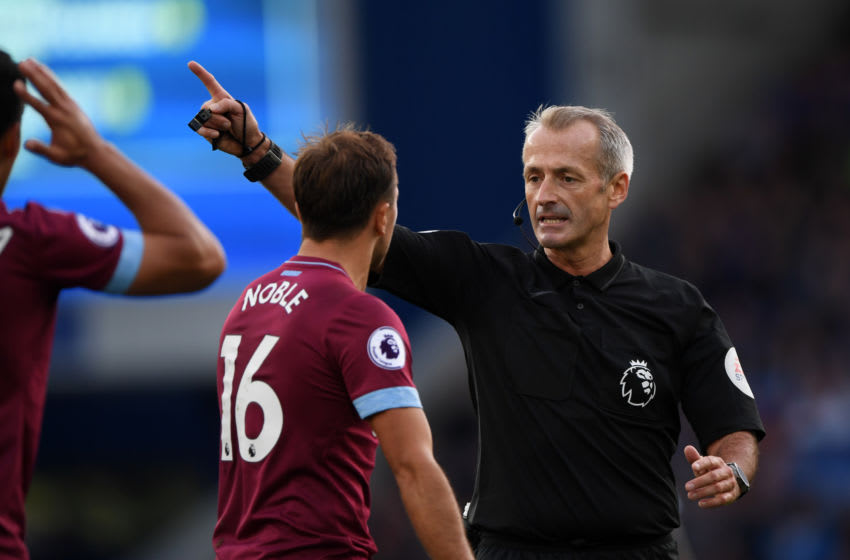 Martin Atkinson will take charge of West Ham vs Sheffield United. (Photo by Stu Forster/Getty Images)