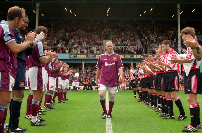 West Ham's Julian Dicks Mandatory Credit: Jamie McDonald /Allsport