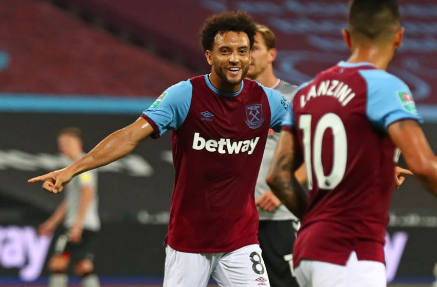 Felipe Anderson has left West Ham to join FC Porto on a season long loan. (Photo by CLIVE ROSE/POOL/AFP via Getty Images)