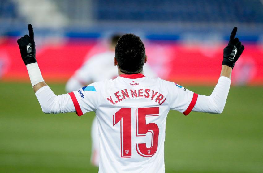 West Ham target Youssef En-Nesyri. (Photo by Photo Prestige/Soccrates/Getty Images)
