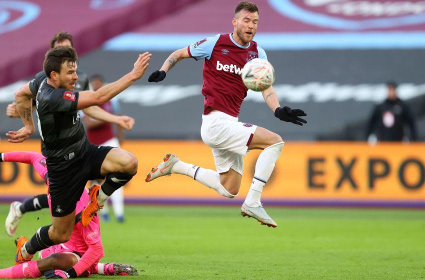 West Ham, Andriy Yarmolenko. (Photo by JULIAN FINNEY/POOL/AFP via Getty Images)