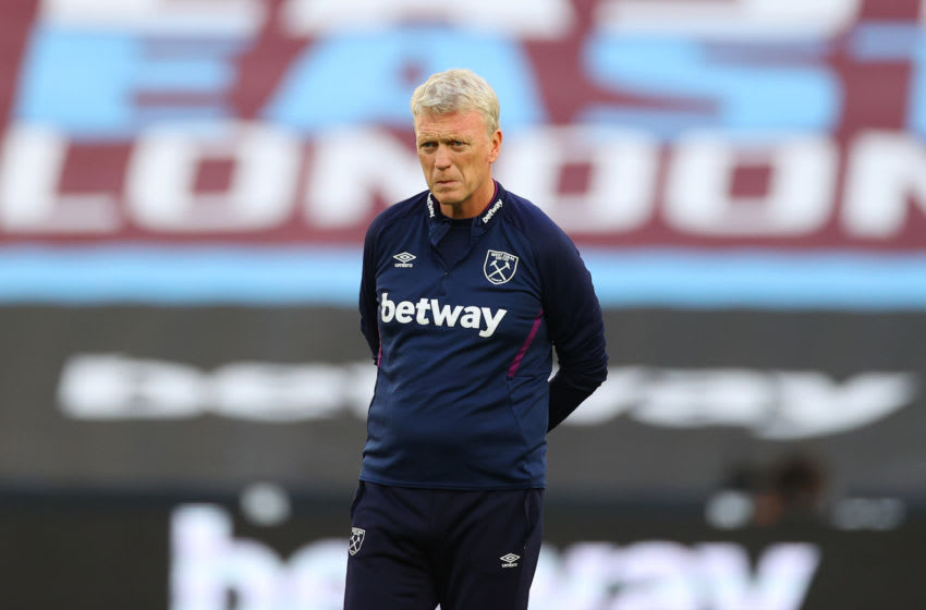 David Moyes has spoke ahead of West Ham's game against Sheffield United. (Photo by Richard Heathcote/Getty Images)