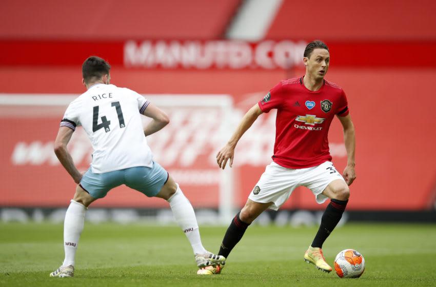 Nemanja Matic vs West Ham. (Photo by Clive Brunskill/Getty Images)