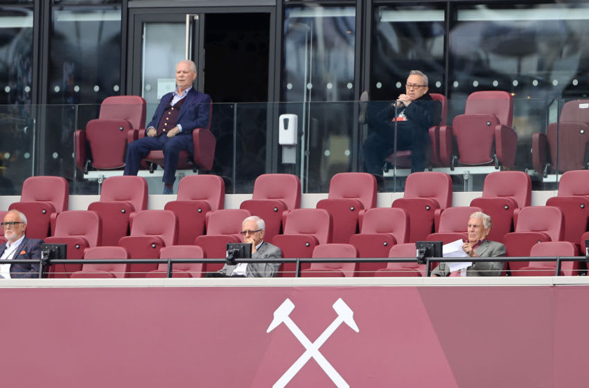 West Ham owners David Gold and David Sullivan (Photo by Julian Finney/Getty Images)