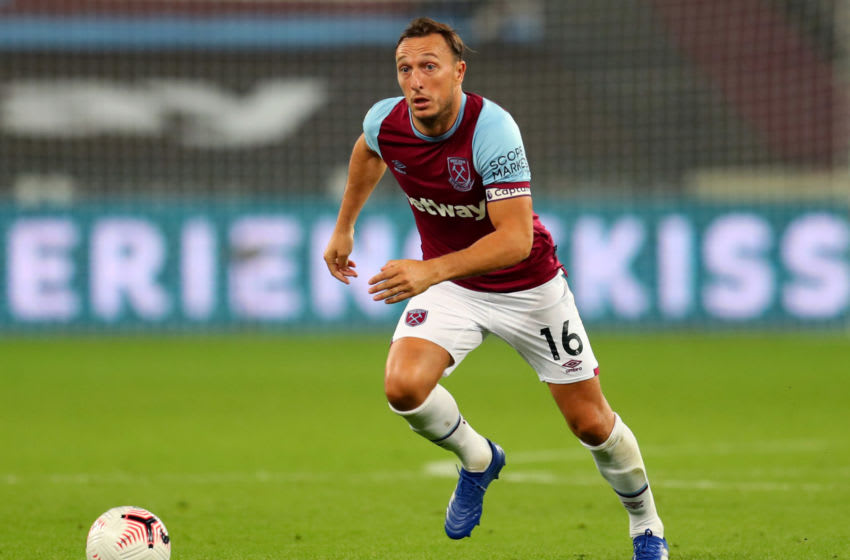 West Ham, Mark Noble. (Photo by Catherine Ivill/Getty Images)