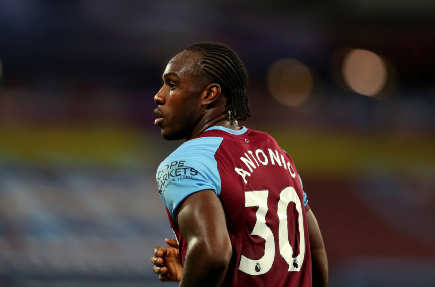 Michail Antonio, West Ham. (Photo by Catherine Ivill/Getty Images)