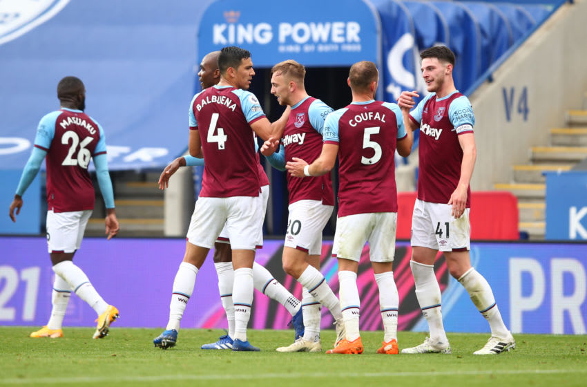 The West Ham squad is starting (Photo by Marc Atkins/Getty Images)