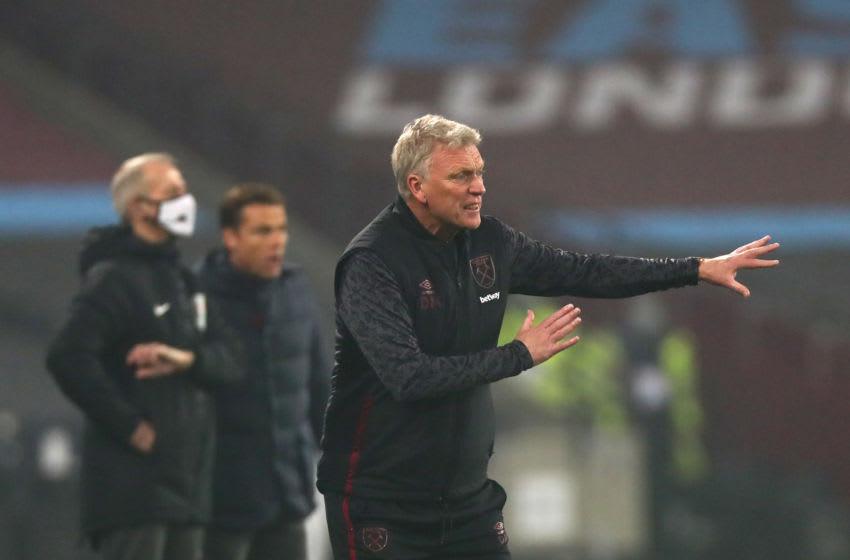 LONDON, ENGLAND - NOVEMBER 07: Manager of West Ham David Moyes.(Photo by Chloe Knott - Danehouse/Getty Images)