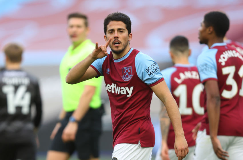 Pablo Fornals, West Ham. (Photo by Julian Finney/Getty Images)