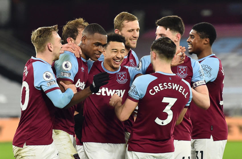 West Ham. (Photo by Glyn Kirk - Pool/Getty Images)