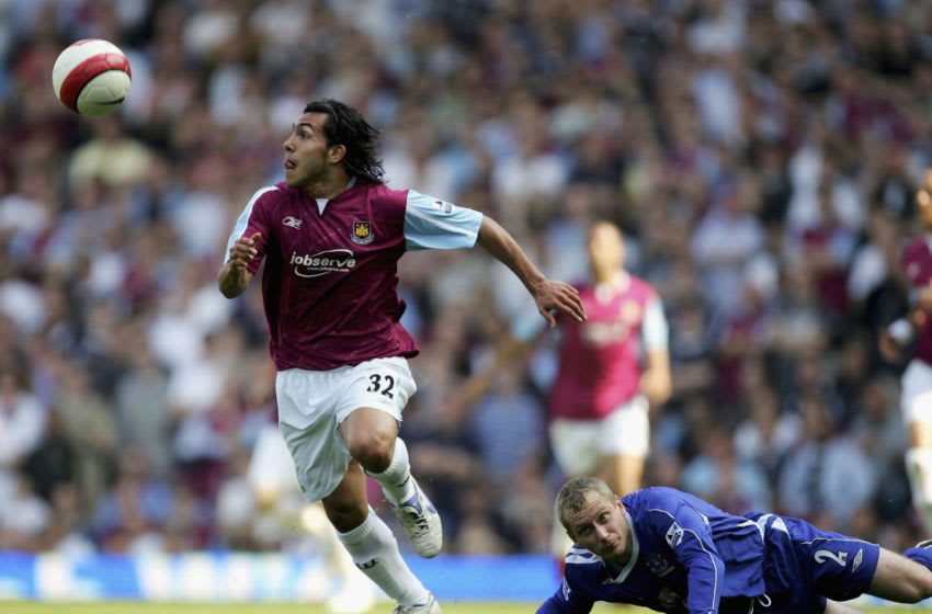 Carlos Tevez Caused controversy when he joined West Ham. (Heathcote/Getty Images)