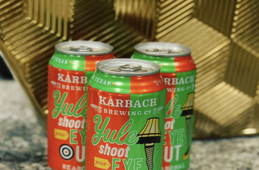 Photo: Karbach Brewing Co.'s Yule Shoot Your Eye Out.. Image by Kimberley Spinney