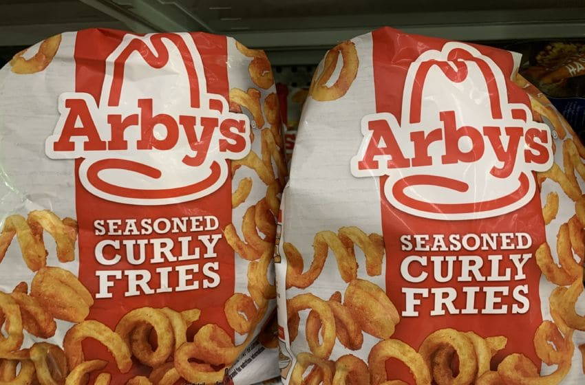 Photo: Arby's Seasoned Curly Fries.. Image by Kimberley Spinney