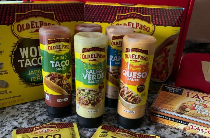 Old El Paso World Taco Kits and Sauces. Image by Kimberley Spinney
