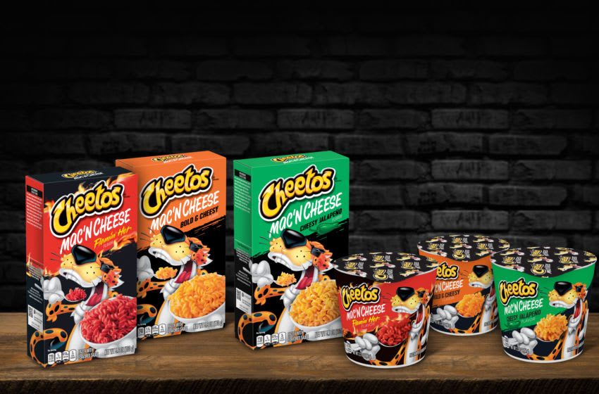 New Cheetos Mac 'n Cheese. Image Courtesy Cheetos