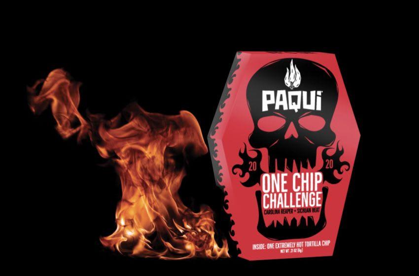 The Paqui #OneChipChallenge. Image courtesy Paqui