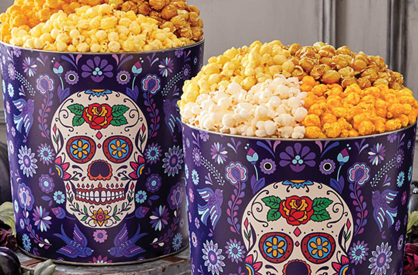 The Popcorn Factory Halloween goodies. Image courtesy 1800Flowers