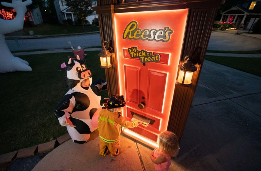Reese's brand reinvents Halloween. image courtesy Reese's