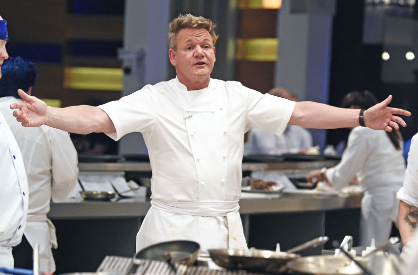 HELL'S KITCHEN: Chef/host Gordon Ramsay in the