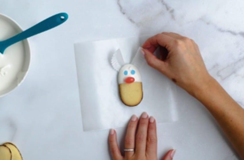 Milano's Adorable Easter Bunny Recipe This Spring. Image courtesy Milano