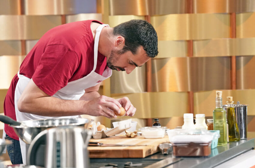 "MASTERCHEF: Contestant Matt in the ""Sherry Yard Dessert Challenge"" airing Wednesday, June 30 (8:00-9:00 PM ET/PT) on FOX. © 2021 FOX MEDIA LLC. CR: FOX."