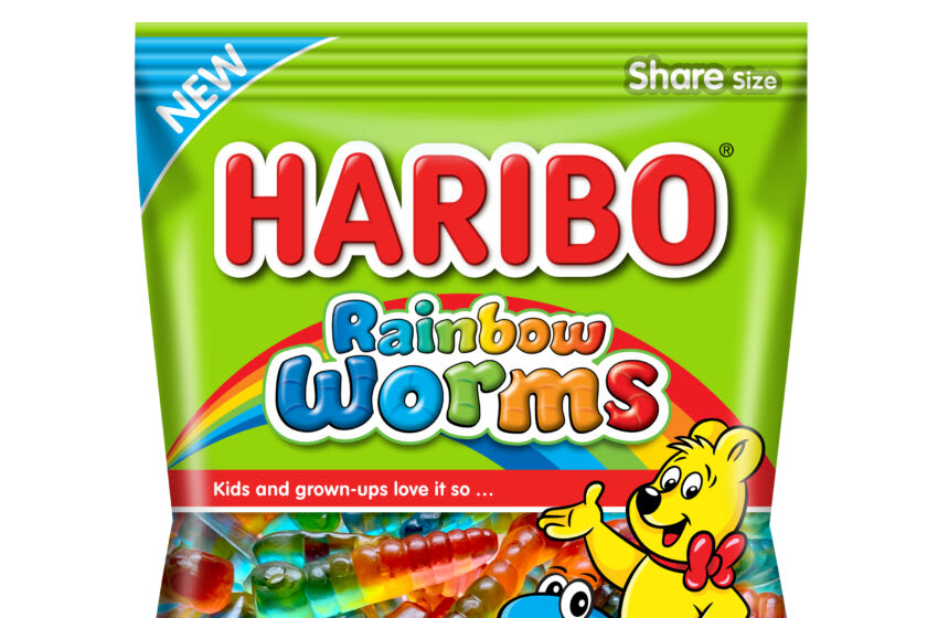 Haribo US Rainbow Worms. Image courtesy Haribo