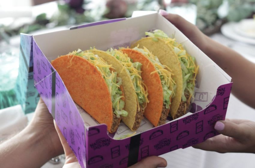 Photo: Taco Bell for National Taco Day, photo courtesy Taco Bell